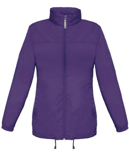 BCJW902 Damen Windjacke Windbreaker Sirocco Purple