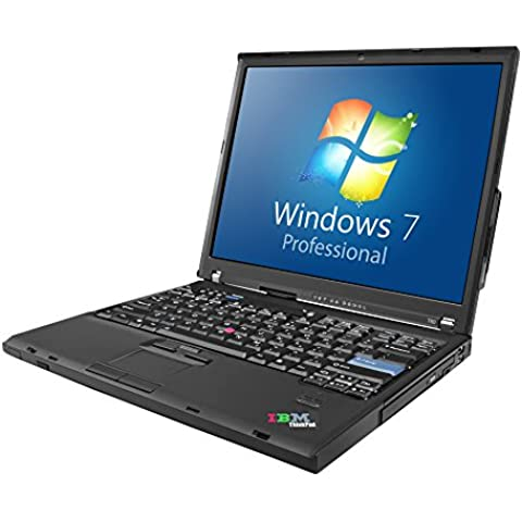 Lenovo ThinkPad T60 35,56 cm/14 pulgadas Laptop Intel Core 2 Duo T2400 1,83 GHz 3 GB DDR2 80 GB SATA DVD Windows 7 Professional