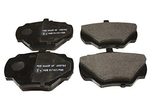 OEM posteriore freni pastiglie freno Defender 90tutti i modelli dal (vin) LA930456on SFP000270A SFP000270G