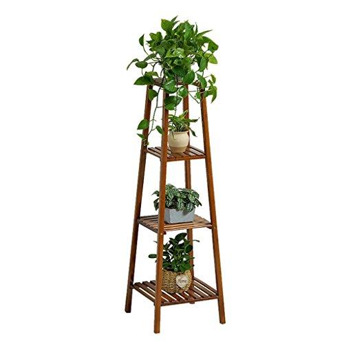 LXF Pots Plante Fleurs Fleur Stand Pot de fleurs Rack Étagère à fleurs Balcon Salon Intérieur Multi-couche en bois massif ( taille : 120cm )