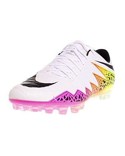 Nike Hypervenom Phinish AG-R, Chaussures de Football Homme, Multicolore Ivoire - Blanco (Blanco (White/Black-Total Orange-Volt))