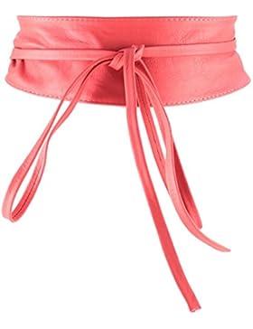 histoireDaccessoires - Cinturón de Cuero de Mujer - CE126823-Bambina