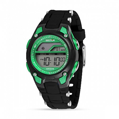 Orologio Sector Expander EX-13 Digilate Black/Green R3251510001