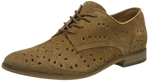 Tommy Hilfiger G1385enny 14b, Oxfords Femme Marron (Summer Cognac 929)