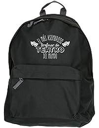 HippoWarehouse El más Asombroso Profesor de Teatro del Mundo kit mochila Dimensiones: 31 x 42 x 21 cm Capacidad: 18 litros