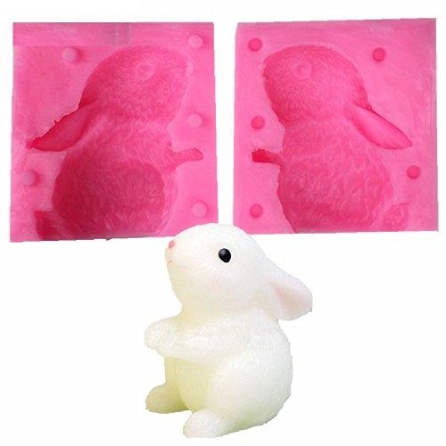 Inception pro infinite stampo in silicone - per uso artigianale - coniglio - saponi candele