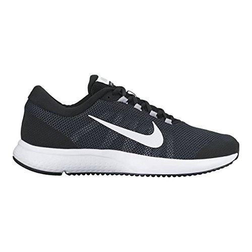 Nike Herren Runallday Laufschuhe BLACK/WOLF GREY-WHITE