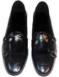 imballaggio forte design distintivo repliche Amazon.it: scarpe doppia fibbia uomo - Mocassini / Scarpe da ...