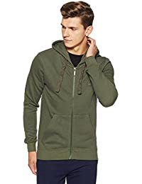 United Colors of Benetton Men's Cotton Sweatshirt (17A3S44J8002I903S_Green_S)