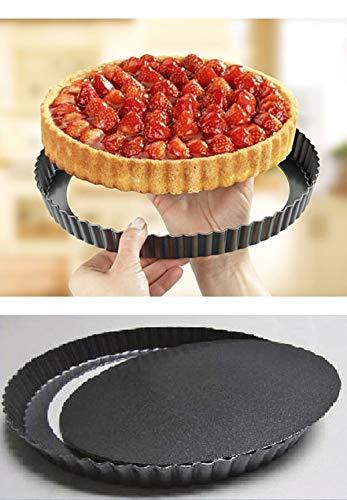 Unbekannt GHZ Matra Quicheform mit Hebeboden Ø 26 cm Backform Tarteform Obstkuchenform Tortenboden