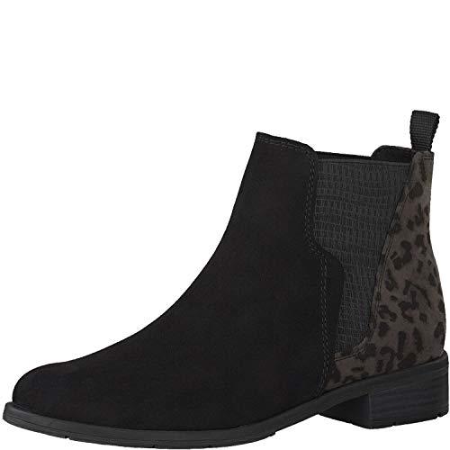 MARCO TOZZI Damen 25399-31 Chelsea Boots, Schwarz (Black Comb 098), 38 EU