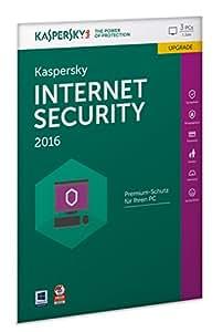Kaspersky Internet Security 2016 Upgrade - 3 PCs / 1 Jahr (Frustfreie Verpackung)