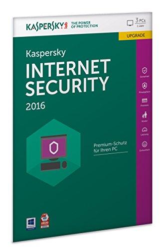 Kaspersky Internet Security 2016 Upgrade - 3 PCs / 1 Jahr (Frustfreie Verpackung) Kaspersky Windows 8