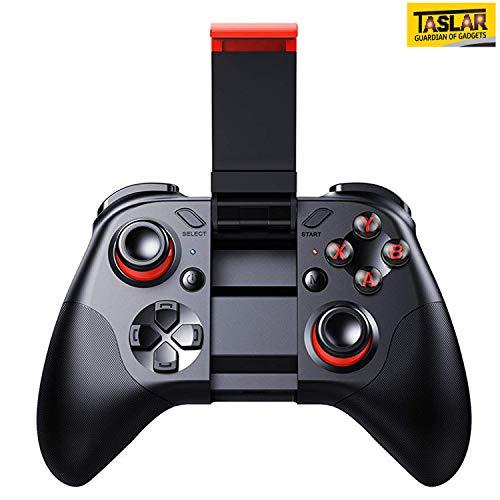TASLAR Mocute Wireless Gamepad Joystick Controller for iOS/VR Android Smartphones/iPad/Tablet/TV Box/PC (Black)