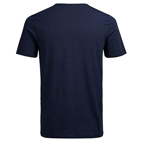 Jack & Jones Premium Pima Crew T-Shirt Navy Blazer Navy Blazer