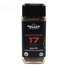 La Posada Velvet Dark 5% Microgrind Instant Coffee, Freeze-Dried, (3 x 90 g)