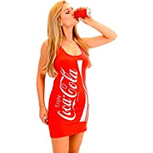 Coke Coca-Cola Red Tunic Tank Dress