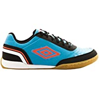 Umbro Futsal Street V Ic - Bota para hombres, color bluebird / grenadine / negro / blanco, talla 42.5
