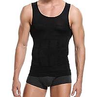 Men's Slimming Body Shaper Compression Shirt Girdles Abdomen Slim Vest Tummy Shaper Elastic