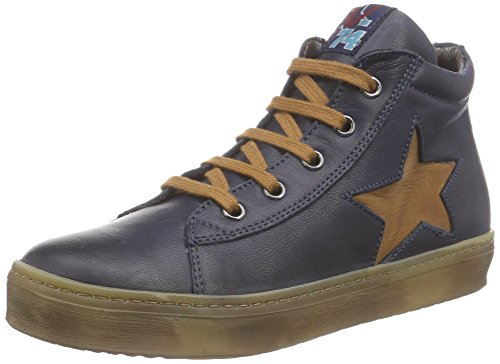 NaturinoNATURINO 3964 - Sneaker alta Bambino Blu (Blau (Blau  9101))