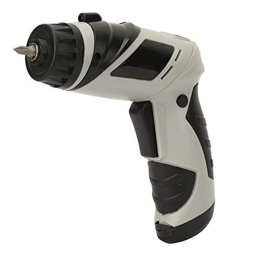 Destornillador, Destornillador eléctrico de 6 V y 3 Nm Destornillador inalámbrico recargable Taladro con varias brocas con varias formas de brocas
