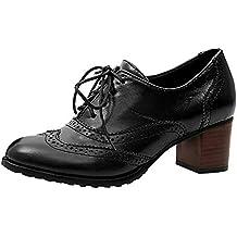 b6c0796208fc8 Amazon.it  scarpe francesine donna con tacco - 40