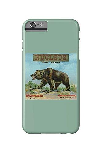 north-ontario-california-nucleus-bear-brand-citrus-label-iphone-6-plus-cell-phone-case-slim-barely-t