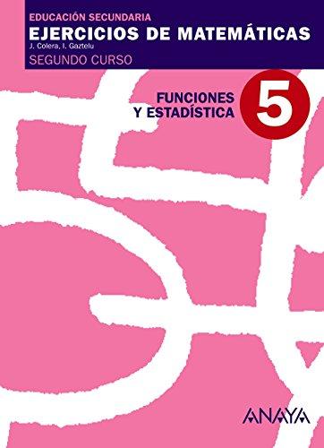 5. Funciones y Estadística. - 9788466769716
