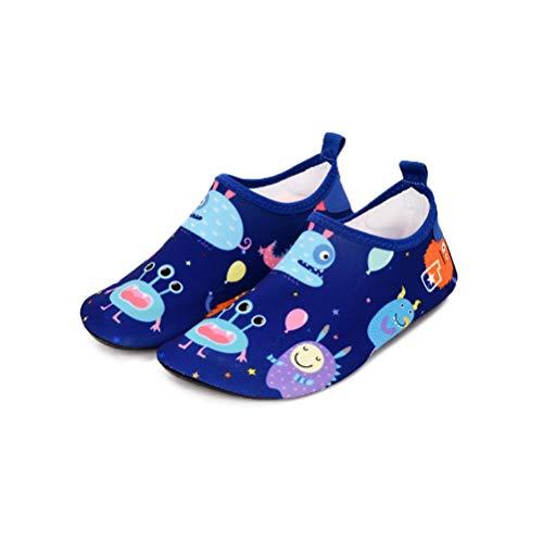 Bwiv Zapatos Agua Niños Bebes Natación Zapatos Niños
