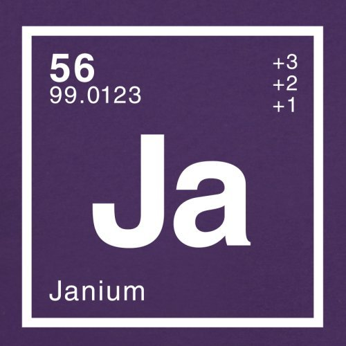 Jan Periodensystem - Herren T-Shirt - 13 Farben Lila