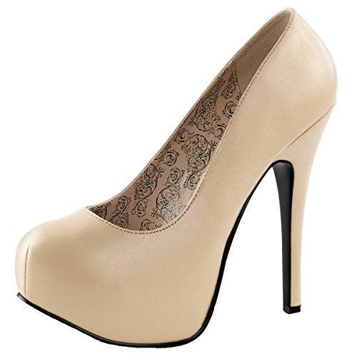 pour Perfect Heels Beige Escarpins femme 8TWx6
