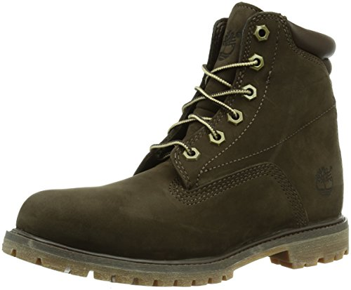 Timberland 6 in classic, Damen Halbschaft Stiefel, Braun (DARK BROWN), 39 EU (6 Damen UK) (Womens Fashion Winter)