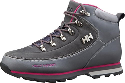 Helly Hansen W The Forester, Bottes Classiques femme Grigio (723 Mid Grey/Hot Pink)