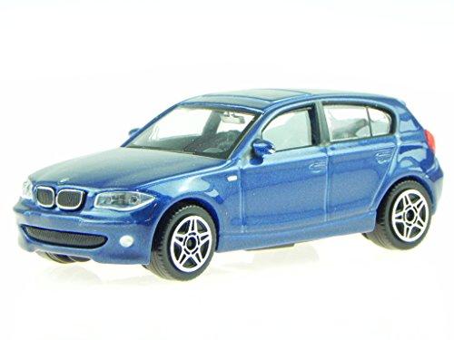 Preisvergleich Produktbild BMW e87 1er 120i blau Modellauto 30181 Bburago 1:43