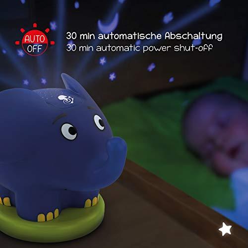 Die Sendung mit der Maus Sternenlicht Projektor Elefant -LED Nachtlicht mit Musik & Sternenhimmel Projektor ideal als Einschlafhilfe für Baby & Kinder - Sternenlicht, Sternenhimmel, Sendung, Schlummerlicht, Projektor, Nachtlicht, Musik, Maus, LED, Kinder, ideal, für, Elefant, einschlafhilfe kind, einschlafhilfe, Deko, Babyzimmer