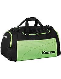 Kempa Bolsa de deporte grande verde/negro 65x 31x 37,5cm, 75L con texto impreso Nombre