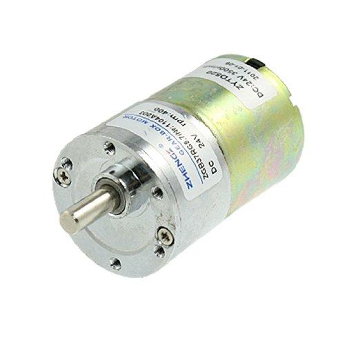 Doppelpaddel Output Speed 37mm Durchmesser 24V 0,33A DC Geared Motor