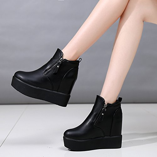 FLYRCX Autunno e Inverno lady spessa slittamento caldo Martin fashion comode scarpe e stivali,36 36