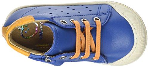 Shoo Pom Kidur Jump, Baskets Hautes Garçon Bleu (Azur/Safr An)