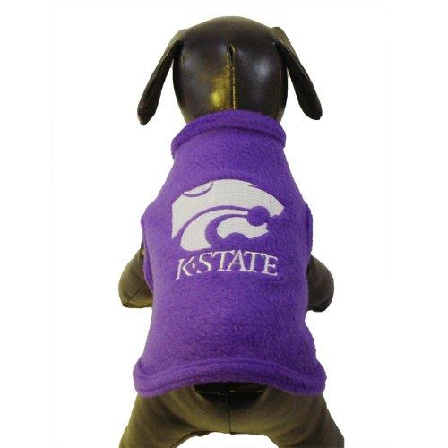 All Star Dogs NCAA Kansas State Wildcats Polar Fleece Hundepullover, Unisex-Erwachsene, violett, X-Large -
