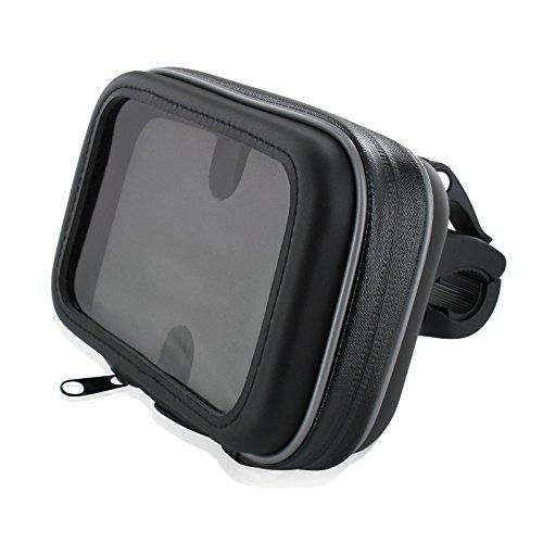 """FM24 Motorrad Fahrrad Bike Set Halterung Tasche ohne Sonnendach 4,3"""" für Navi Geräte für bis max. 133 x 84 mm"""