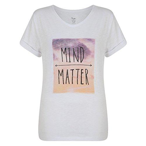 Dare 2b Damen Chilled T-Shirt, Weiß, 20 White