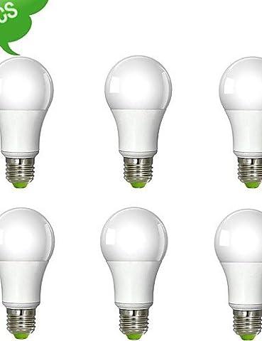 Un SDYJQ60 E27 12W (=100W) CRI Inca>80 S/N 1230LM LED blanc chaud 3000K Ampoule Globe LED lumière (AC 100-240V)