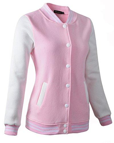 Benibos - Sudadera con capucha - para mujer rosa rosa M