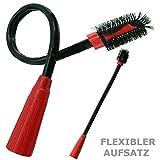 Eurosell XL Radiador Cepillo Muebles Pinceles Radiador polvo pincel flexible para aspirador – 30 31 32