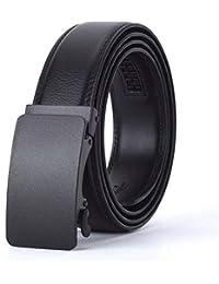 LLLM Cinturones Cinturón De Cuero con Hebilla Automática para Hombres Moda  Masculina Cinturones De Hebilla De 0f3440f67485