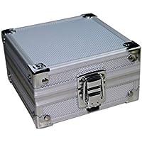 EEvER Aplicado Caja del Equipo del Tatuaje Caja de la aleación de Aluminio Caja de la máquina Profesional Tatuaje vacío con Esponja para Equipos de Tatuajes