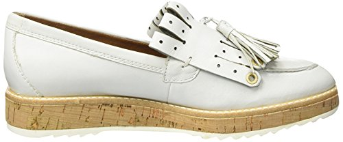 Tamaris Damen 24701 Slipper Weiß (WHITE LEATHER 117)