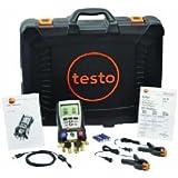 Analyseur de système de froid Testo 05635703kit avec 2Clamp Probe, étui et câble USB, -58à 302degrés F Gamme par Testo
