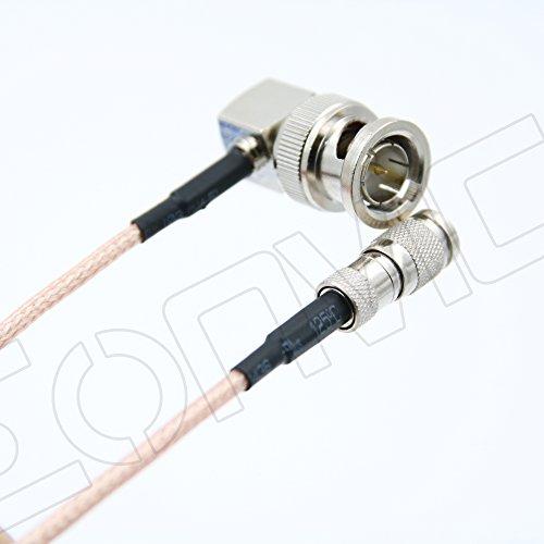 30,5cm rechten Winkel BNC auf DIN 1,0/2,3RG1796g Blackmagic Koax-Kabel